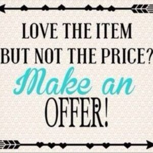 Don't be shy, make an offer !💕